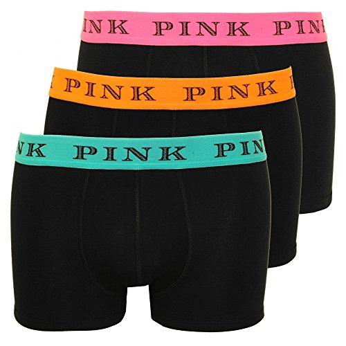 thomas-pink-3-pack-sloane-mens-boxer-trunks-black-with-orange-pink-blue-large-black-with-orange-pink