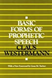 img - for Basic Forms of Prophetic Speech book / textbook / text book