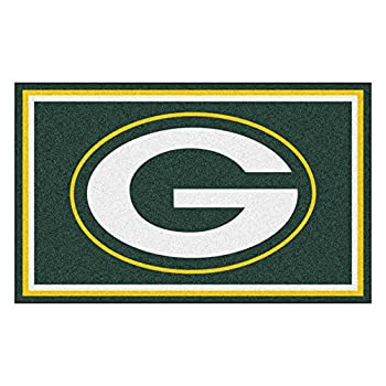 Image of Fanmats Green Bay Packers 4x6 Rug