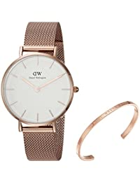 Gift Set, Classic Petite Melrose 32mm Watch with Rose Gold Classic Cuff