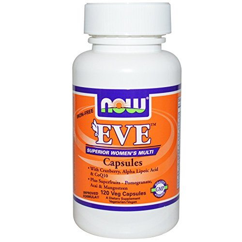 Eve (Superior Women's Multiple Vitamin) - 120 Veg Capsules by Now