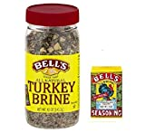Bell's All Natural Turkey Brine 12oz & Bell's Original Seasoning 1oz Kit
