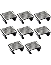 Outdoor Patio Wicker Furniture Clips Sectional Sofa Rattan Furniture Clamps Chair Fasteners Connect The Sectional or Module Outdoor Couch Patio Furniture Connect Clamps