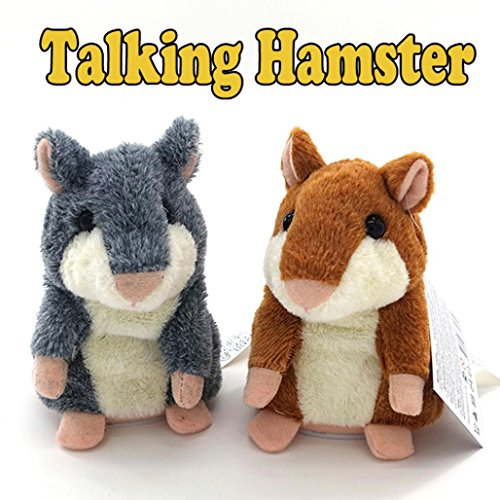 Kids Toys Plush Toys Speak Talking Record Hamster Mouse By Makaor (approx 8cmx8cmx15cm, (Halloween Talking Dog Toys)