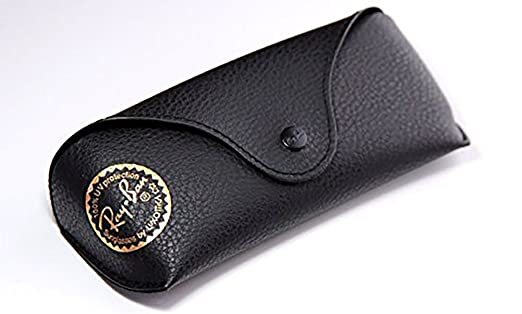 replacement ray ban glasses case  orginal ray ban sunglasses pu leather case (black)