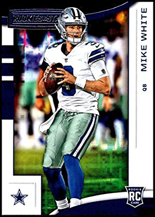 10f868b6637 2018 Panini Rookies and Stars #139 Mike White NM-MT RC Dallas Cowboys  Official