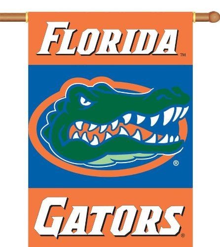 - NCAA Florida Gators 2-Sided 28-by-40 inch House Banner with  Pole Sleeve