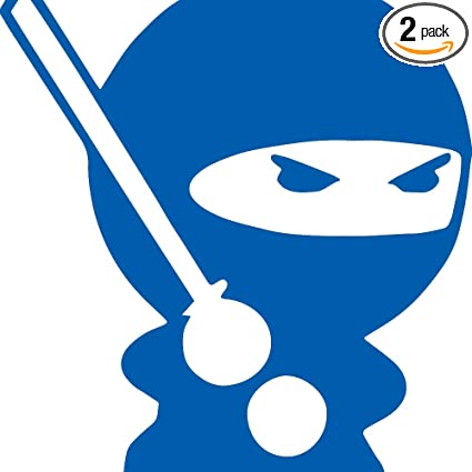 Amazon.com: Funnies MINIZ Ninja (Azure Blue) (Set of 2 ...