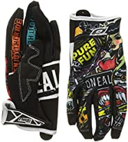 O'Neal Jump Gloves with Crank Graphic (Black/Multicolor, Siz