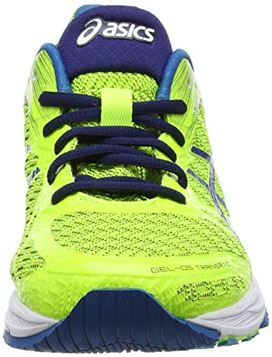 Asics Gel-DS Trainer 22 NC, Chaussures de Running Compétition Homme, Jaune (Safety Yellow/Thunder Blue/Indigo Blue), 40.5 EU