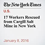 17 Workers Rescued from Cargill Salt Mine in New York | Katie Rogers