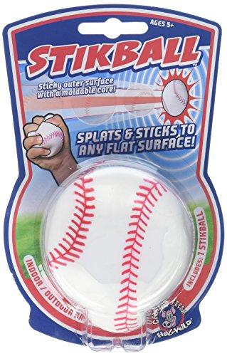 Hog Wild Splat & Stick Stikball Baseball