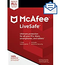 McAfee LiveSafe [Activation Card by Mail]
