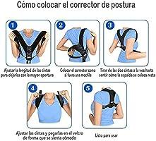 InnoTi Corrector de Postura Espalda para Hombre y Mujer - Soporte ...