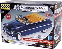 Hawk Washington Mint Ultra Metal Series 1949 Mercury Convertible, Blue from Alpha International Inc.