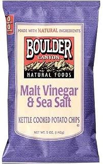 product image for Boulder Canyon Malt Vinegar Potato Chips (12x5 Oz)