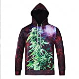 Winter men 's 3D print hooded sweater casual men' s pullovers couple sweater , l6037# , l