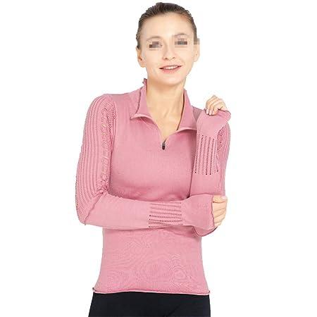 Liuxiaomiao Top de Yoga para Mujer Mujeres Gym Camisa ...
