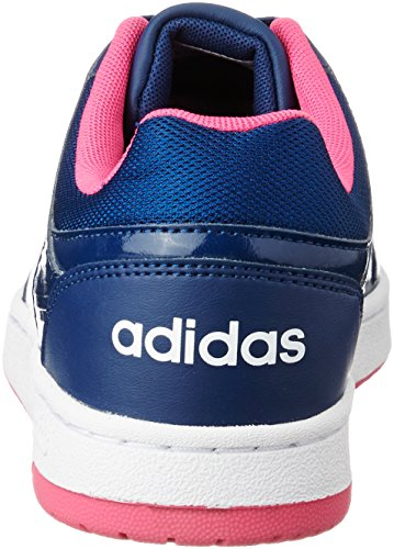 Adidas VS Hoopster W Damen Sportschuhe, Blau–(azumis/Ftwbla/rosimp) 402/3