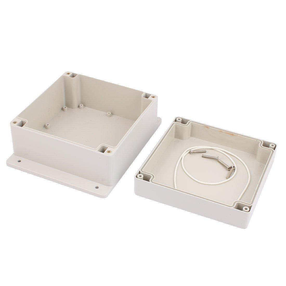 Amazon.com: DealMux impermeável caso do projeto eletrônico fiação da caixa de junção 160x160x90mm: Electronics