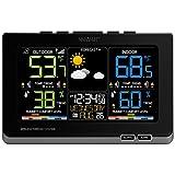 La Crosse Technology C87214 Multicolor  Wireless Forecast Station, Black