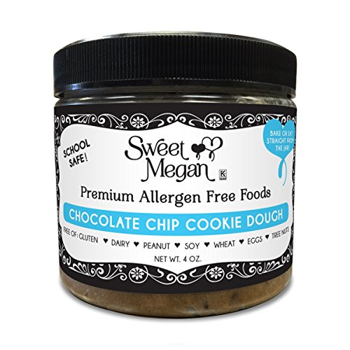 Sweet Megan Edible Bake-able Gluten Free Cookie Dough 6 oz. (Chocolate Chip)