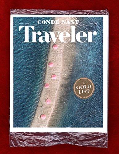 Conde Nast Traveler Magazine January Volume 1 2018 | The Gold List