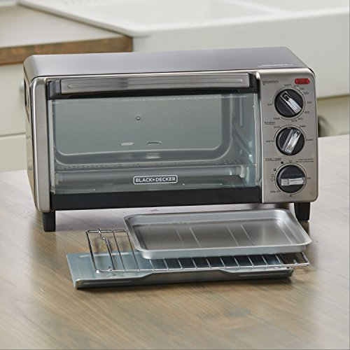 Black And Decker Natural Convection  Slice Toaster Oven