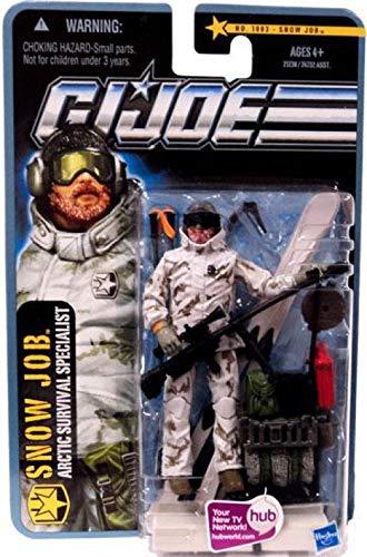 G.I. Joe Pursuit of Cobra 3 3/4 Inch Action Figure Arctic Threat Snow Job
