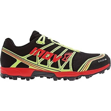 Inov-8 X-talon 200 Trail Running Shoe,Black/Red/Yellow,10 M US
