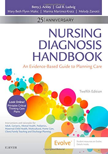 Nursing Diagnosis Handbook: An Evidence-Based Guide to Planning Care by Mosby