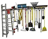 garage tool storage ideas , Garage Organizer, Metal Pegboard, Commercial Quality, Industrial Strength, Prefinished Steel Peg Board, 8 Feet Total Length, Uses Standard Peg Hooks (not Included, See Our Other Listing)