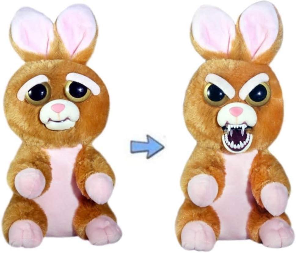 William Mark Feisty Pets Vicky Vicious Adorable Conejo de Peluche Que se Convierte en un apretón