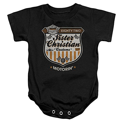 Night Ranger - Sister Christian Motorin' - One-Piece Infant Snapsuit - 24 Months