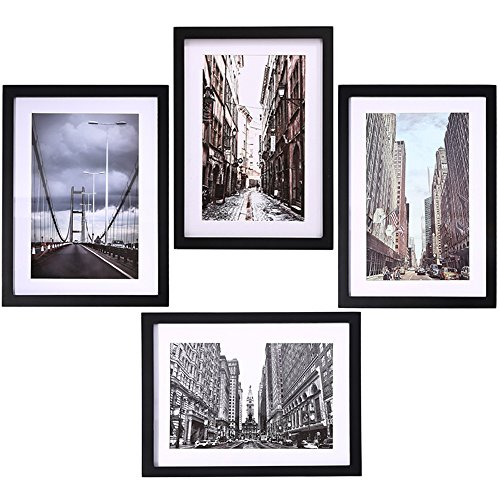 "Picture Frames Collage for 4 Photos in 11"" x 14"" for Wall Mo"