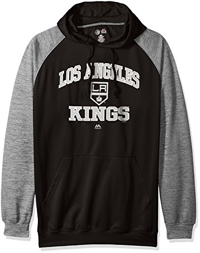 Profile Big & Tall NHL Los Angeles Kings Men's B&T Poly Fleece Hoodie, 3X, ()