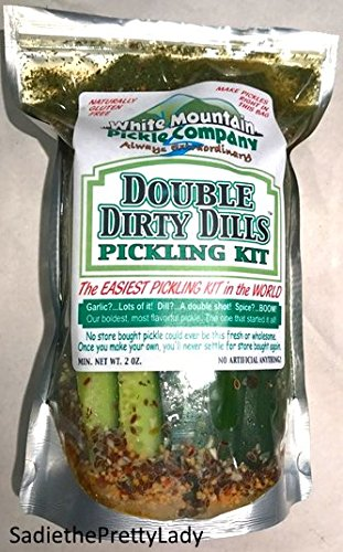 White Mountain Pickle Co. Double Dirty Dills Pickling Kit - No Jar Needed White Mountain Pickle Company