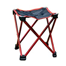Hi Suyi Ultralight Portable Folding Camping Chairs Stool for Beach Garden Picnic Outdoor Camp Travel,Aluminum Alloy Frame,Anti-tear Oxford Cloth Cover,Anti-slip Feet,with Carrier Bag