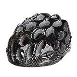 CapsA Bike Helmets Lightweight Microshell Bicycle Helmet Ultralight Bicycle Helmet Featuring 360 Degree Comfort System Adjustable Bike Cycling Helmets with Light Size 57-61 (D, 57-61 cm)