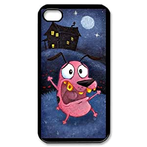 iPhone 4,4S Phone Case Cover Courage the Cowardly Dog C8865