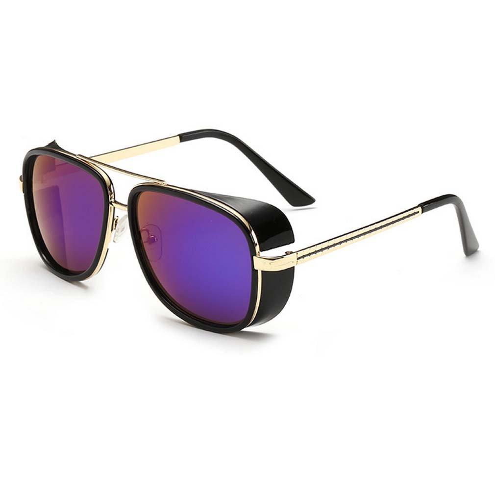 V House Men Women Sunglasses Iron Man Tony Driving Sunglasses Frog Mirror Glasses C3