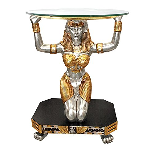 - Design Toscano Egyptian Goddess Ma'at Console Table