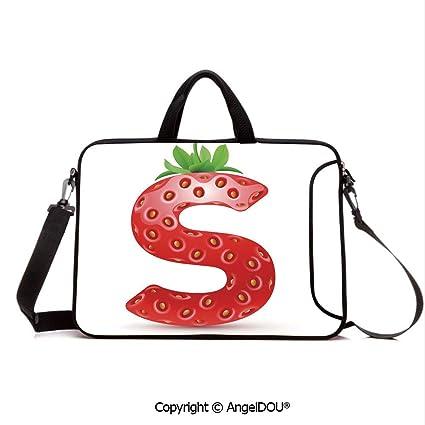 e95716a73031 Amazon.com: AngelDOU Neoprene Printed Fashion Laptop Bag Capital S ...