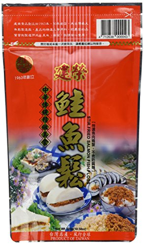 10.58oz Stir Fried Salmon Fish Floss by Chien Jung, Pack of 1