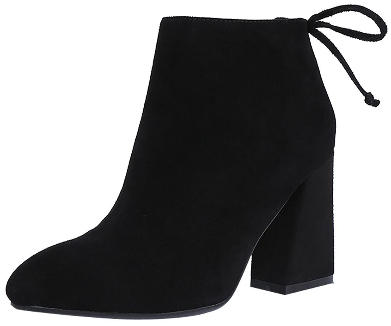 ELEHOT Womens Eleparcel 7CM mid-heel Boots