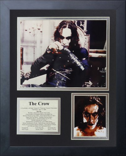 Legends Never Die The Crow Framed Photo Collage, 11 x 14-Inch by Legends Never Die