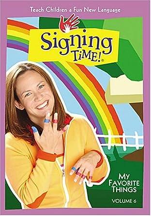 Signing Time Volume 6: My Favorite Things DVD