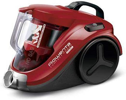Rowenta Compact Power Cyclonic RO3718EA - Aspirador, color rojo ...