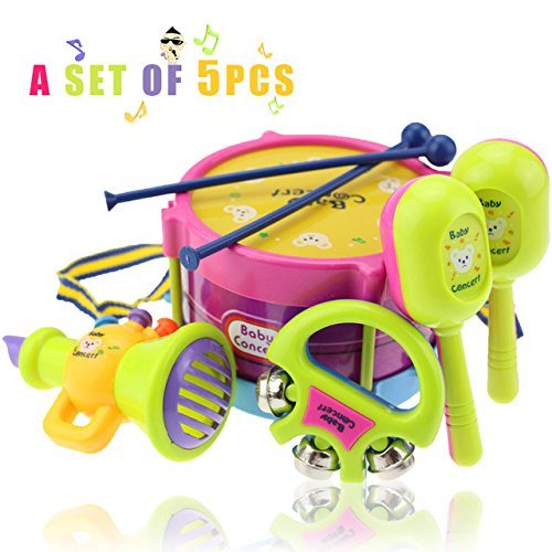 merry-hand-drum-beat-rattles-educational-kids-toys-children-rattle-baby-toys5-set