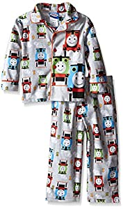 Thomas the Train Little Boys' Steam Engine Racers 2-Piece Pajama Coat Set